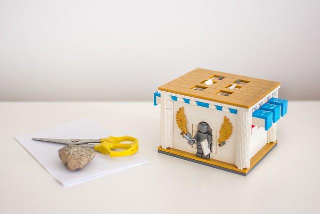Rock - Paper -  Scissors machine