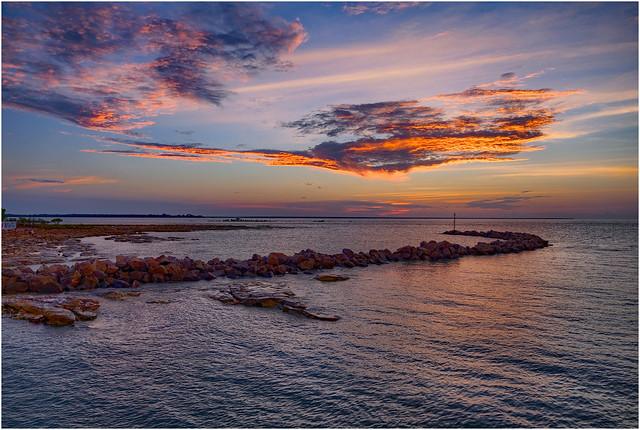 Nightcliff Sunset Collection, Darwin Harbour, NT, Australia - 25 November 2019 #1