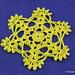 Easy Delicate Crochet Snowflake
