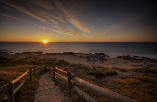 australia sunset bunbury
