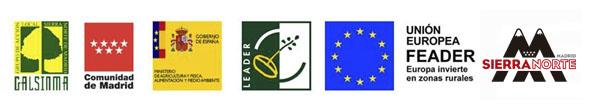 Logos proyecto Sierra Norte de Madrid