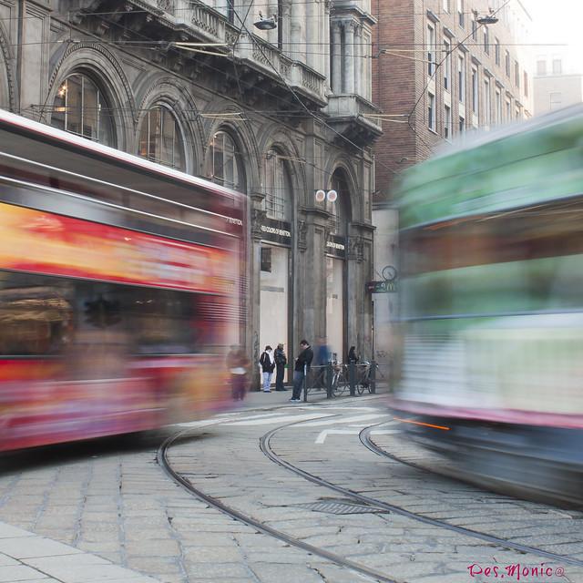 Milano, città movimentata