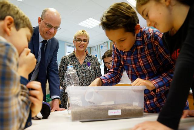 Visites des écoles d'Indre-et-Loire