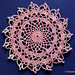 Happy doily