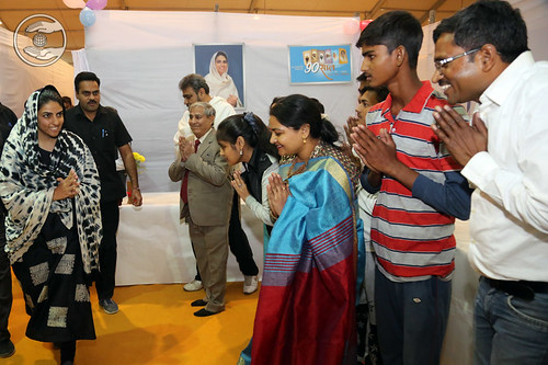Press and Publicity staff seeking blessings