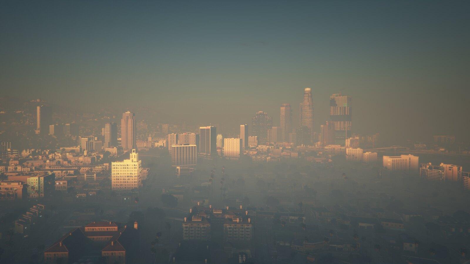 City Fog | GTAV