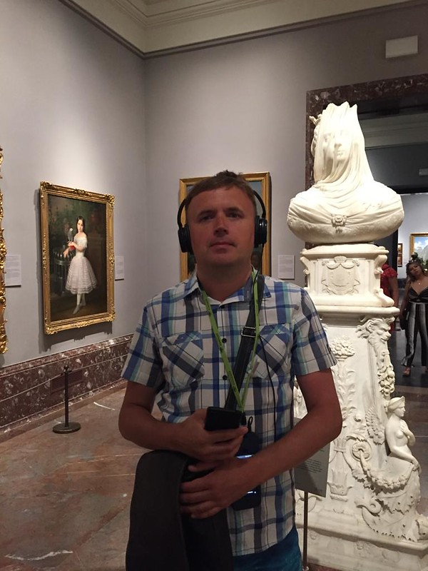 Мадрид - Турист в музее Прадо