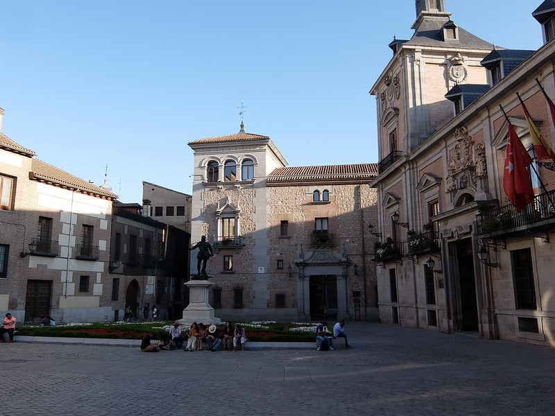 Мадрид - Пласа де ла Вилья