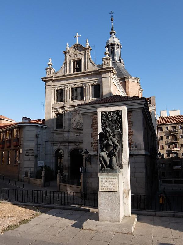 Мадрид - Памятник жертвам покушения