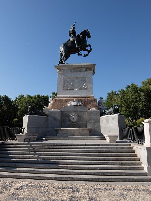 Мадрид - Статуя короля Филиппа IV