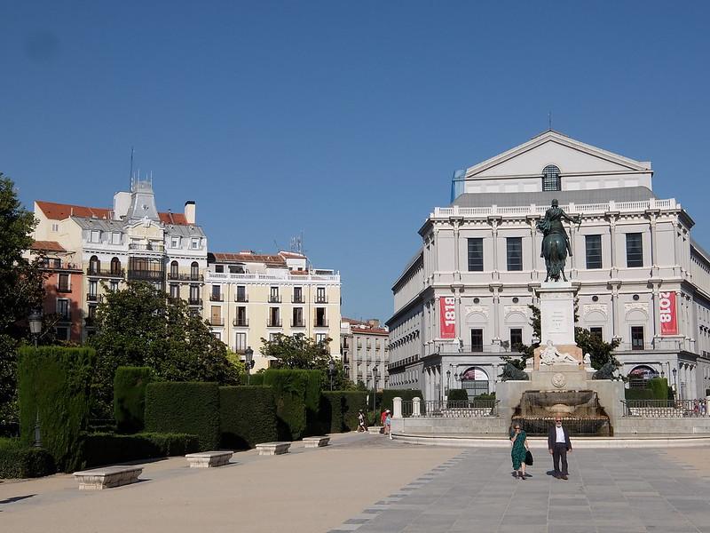 Мадрид - Площадь Ориенте