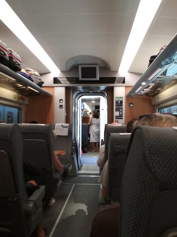 Мадрид - В вагоне поезда RENFE