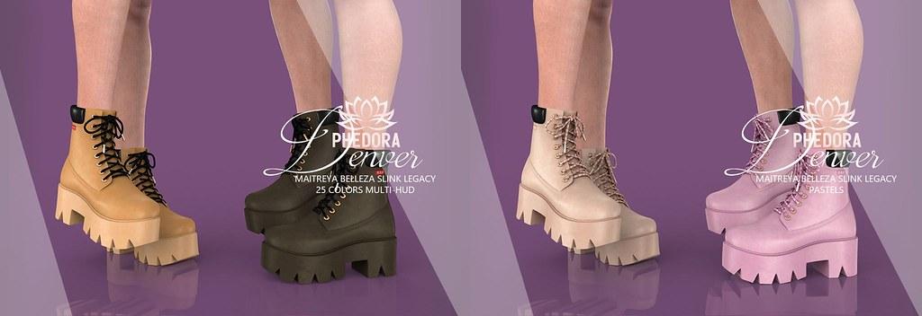 """Phedora for Uber – """"Denver"""" Boots ♥"""