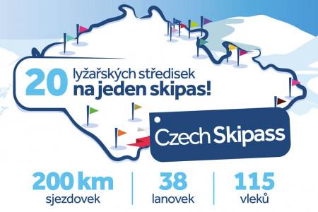 Vyhlášení vítěze soutěže o celosezónní Czech Skipass 2019/20
