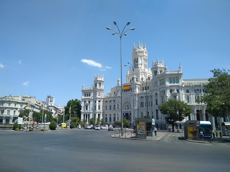 Мадрид - Дворец Связи