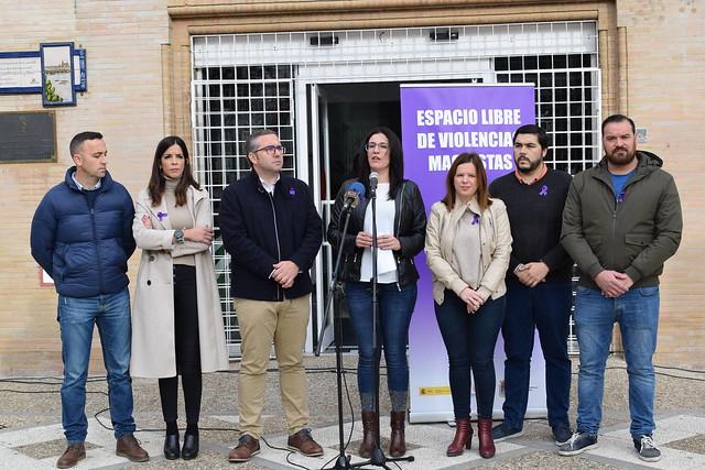 Día Internacional contra la Violencia de Género Los Palacios