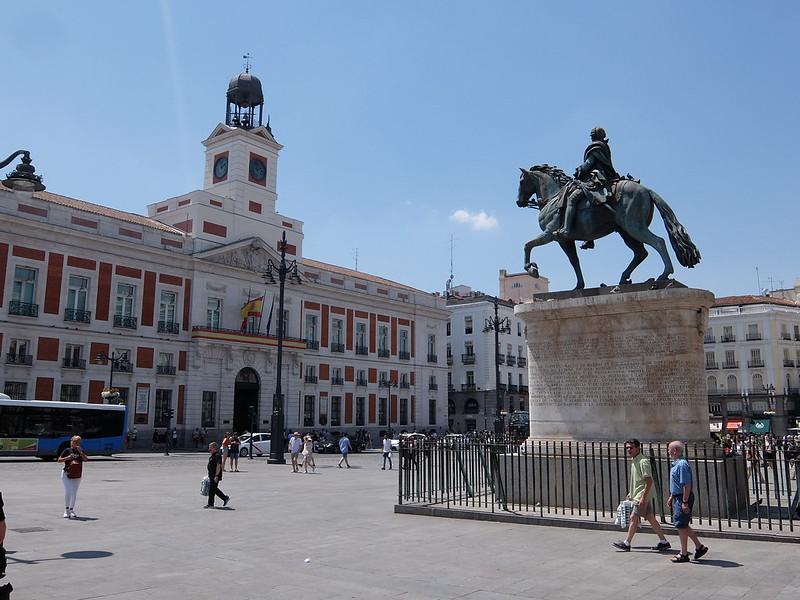 Мадрид - Памятник Карлосу III
