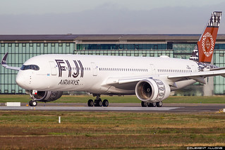 Fiji Airways Airbus A350-941 cn 320 F-WZFW // DQ-FAJ