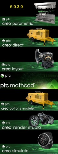 PTC Creo 6.0.3.0 full license