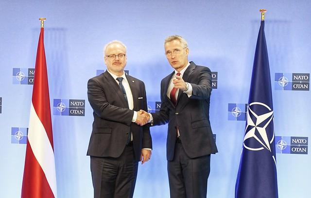 25.11.2019. Valsts prezidenta Egila Levita tikšanās ar NATO ģenerālsekretāru Jensu Stoltenbergu (Jens Stoltenberg)