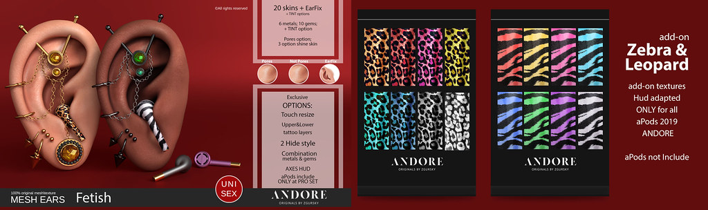 :ANDORE: @ New release for Kinky Event ( 28 Nov. Open) + Contest