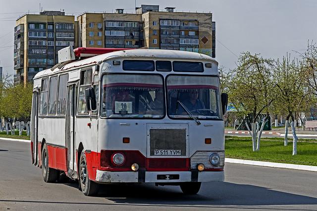 LiAZ-677 bus