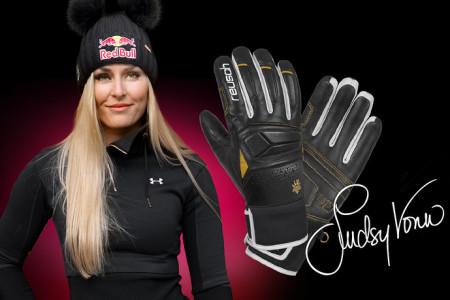Známe výherce soutěže o rukavice Reusch Lindsey Vonn signatured