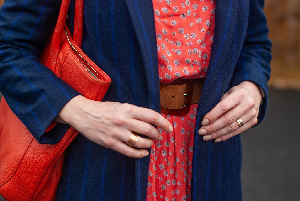 Styling a Boho Dress for Autumn With Layering and Faux Fur   Not Dressed As Lamb, Over 40 Style