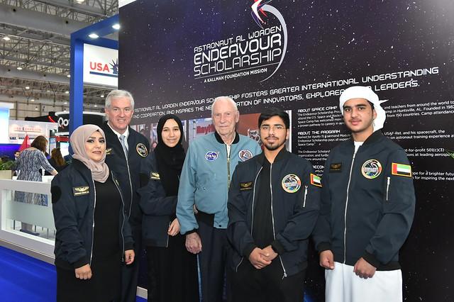 Dubai Airshow 2019 - Astronaut Al Worden Endeavour Scholarship Ceremony