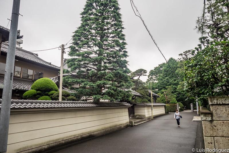Zona de templos de Hiroo