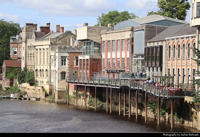 River Ouse Waterfront, York, UK