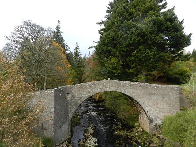 Old Stone Bridge, Glen Dye, Aberdeenshire, Oct 2019