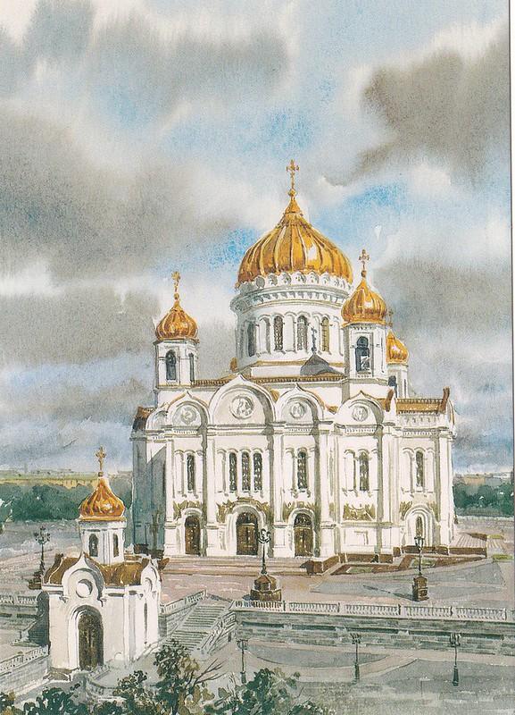 Москва в акварелях (16)