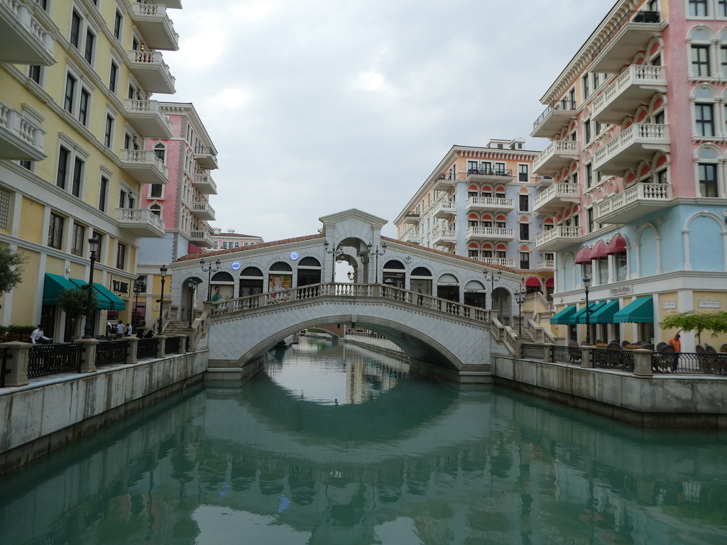 Rialto Bridge on The Pearl, Doha