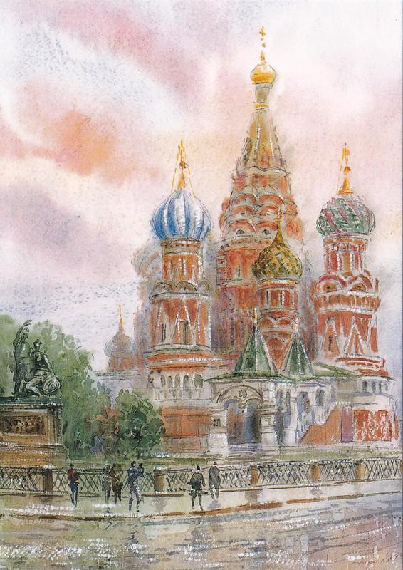 Москва в акварелях (14)