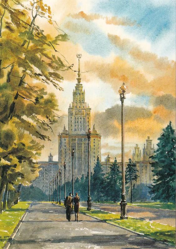 Москва в акварелях (11)