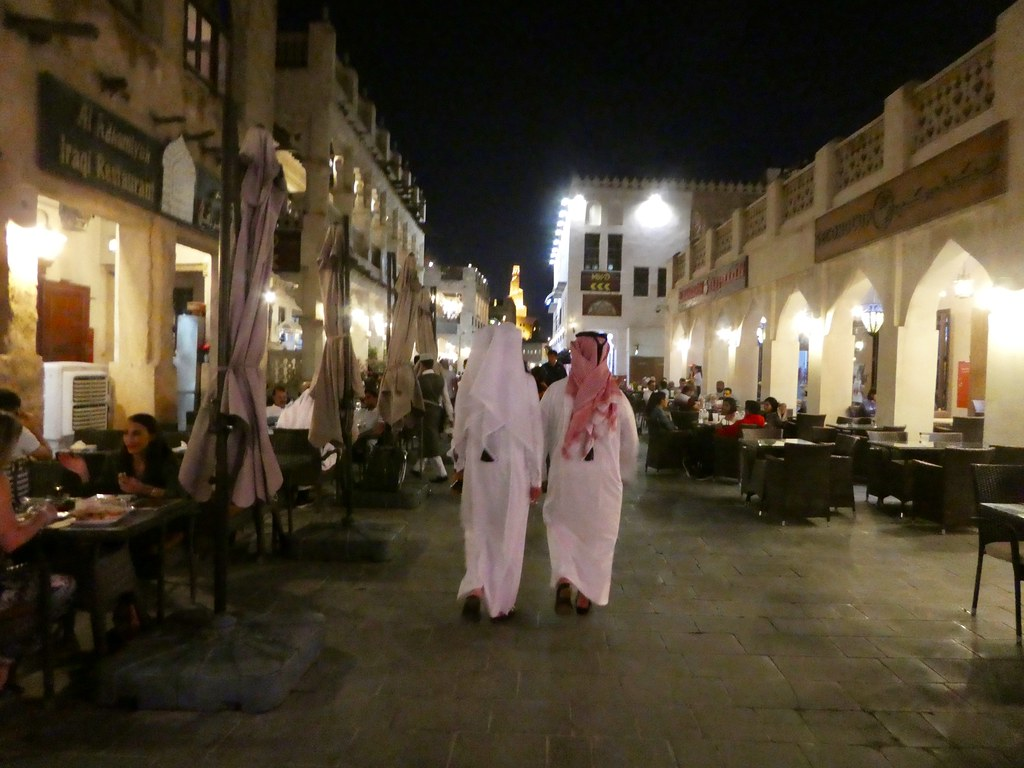 Evening in Souq Waqif, Doha