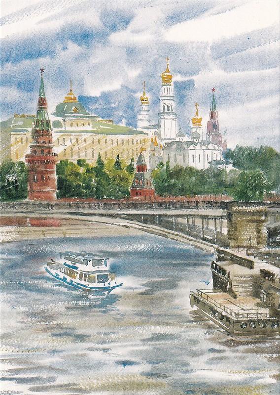 Москва в акварелях (7)