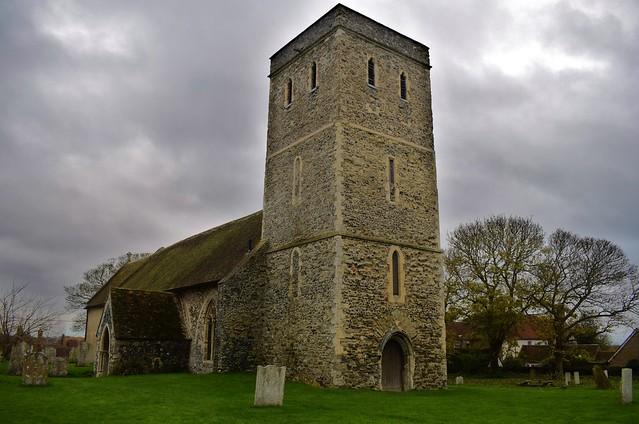 The Church of St Mary Magdalene, Monkton Kent.