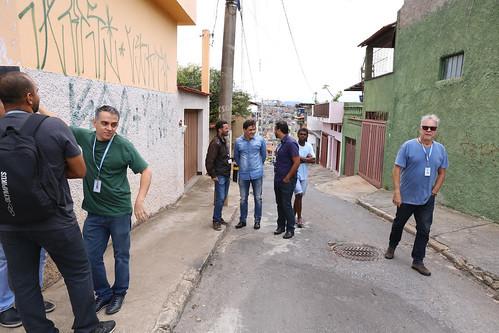 Visita técnica para vistoriar as condições de drenagem da Av. Romero Gomes Vieira, no Bairro Mangueiras - Comissão de Saúde e Saneamento