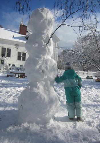 four part snowman