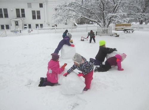 rolling snowballs