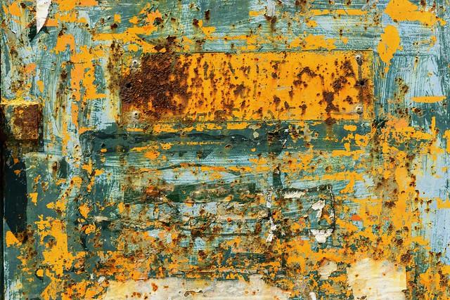rusty yellow