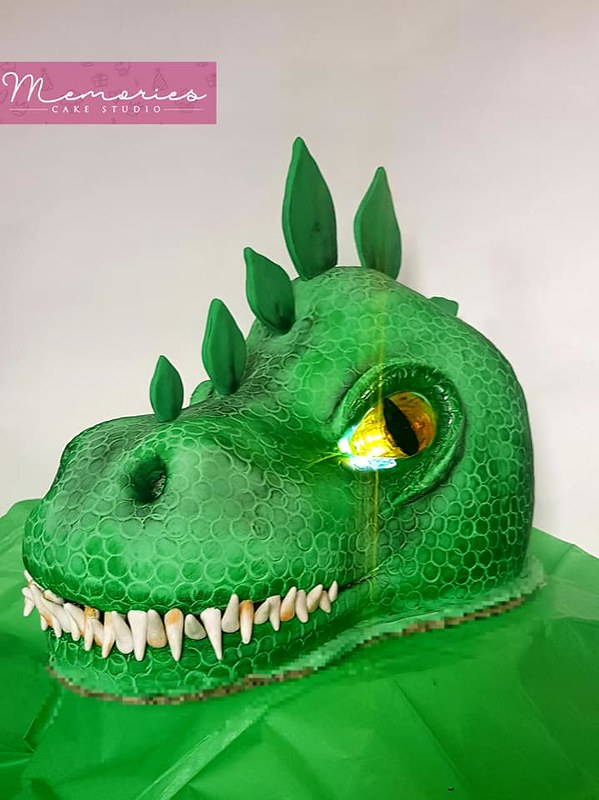 Dino Cake by Memories Cake Studio