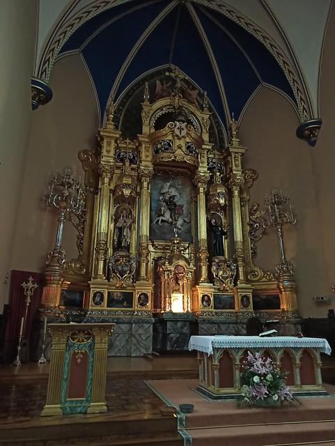 Iglesia de Santiago Apostol (Elizondo, Navarra, España, 24-11-2019)