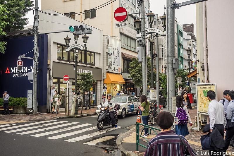 Inicio de la calle Sanpo-dori