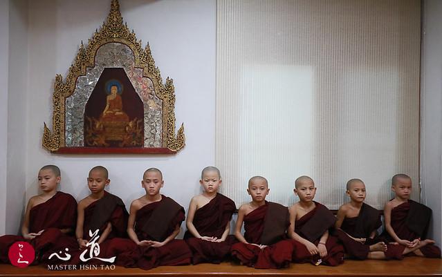 20191125緬甸短期出家捨戒儀式