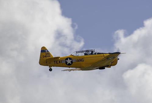 T-6 Texan of the Texas ANG