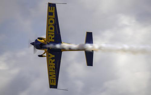 Matt Chapman Air Show Plane