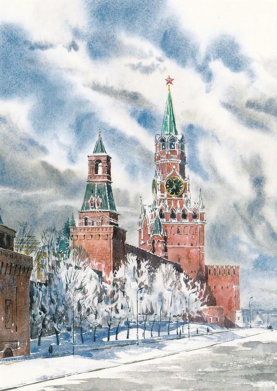 Москва в акварелях (4)